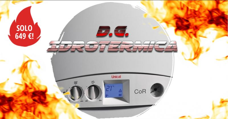 offerta caldaia a camera stagna napoli - occasione caldaia a condensazione unical 24 kw napoli