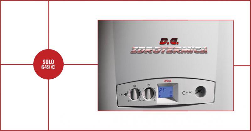 DG IDROTERMICA - offerta caldaia a condensazione murale da 24 kw napoli