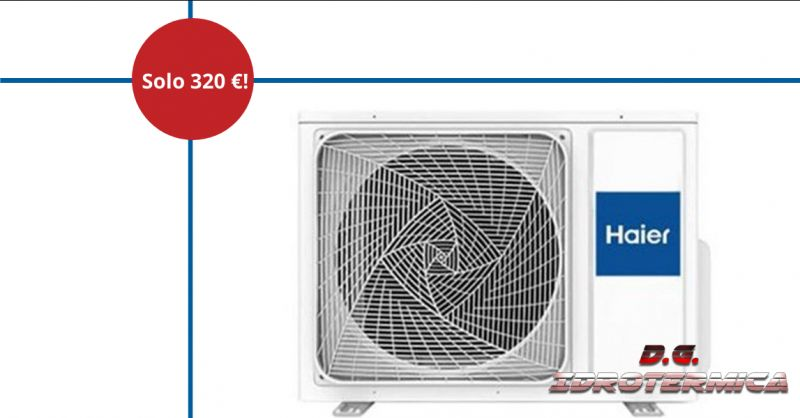 DG IDROTERMICA - offerta vendita macchina esterna per climatizzatori monosplit napoli