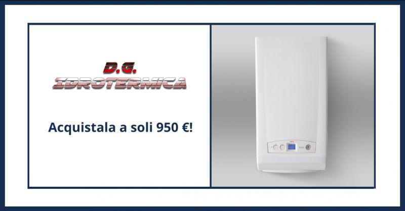 DG IDROTERMICA - offerta vendita caldaia ad alta efficienza con kit fumi napoli