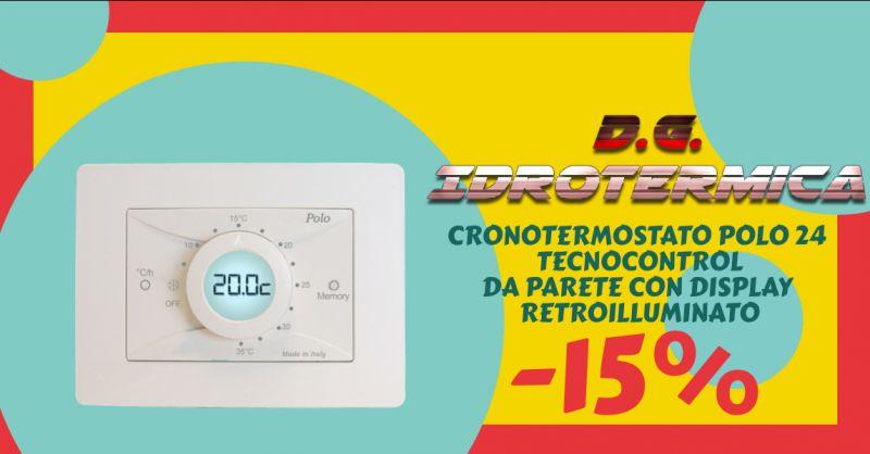 DG IDROTERMICA - offerta vendita termostato per riscaldamento e condizionamento napoli