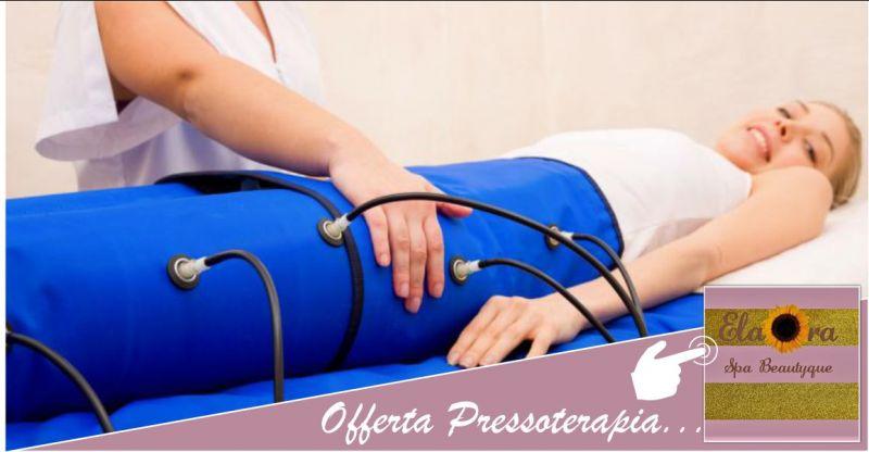 ELAORA SPA BEAUTYQUE - offerta trattamento pressoterapia benefici inestetismi cellulite