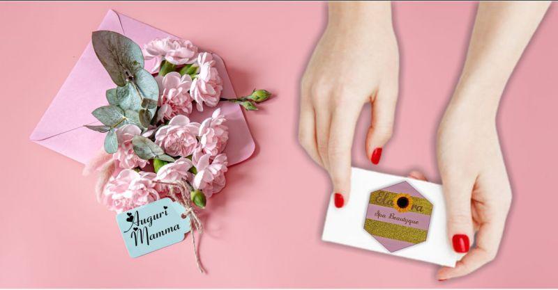 ELAORA SPA BEAUTYQUE centro benessere - offerta regalo festa della mamma gift cards personalizzate