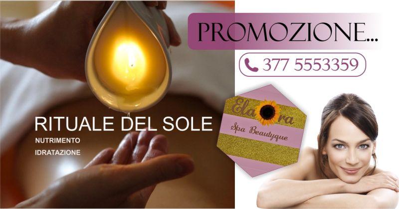 ELAORA SPA BEAUTYQUE centro benessere - offerta massaggio con Honey Candle Fito Mediterranea