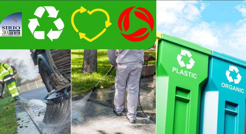 Cooperativa Sirio - offerta cooperativa servizi ambientali parma - occasione cooperativa raccolta differenziata parma