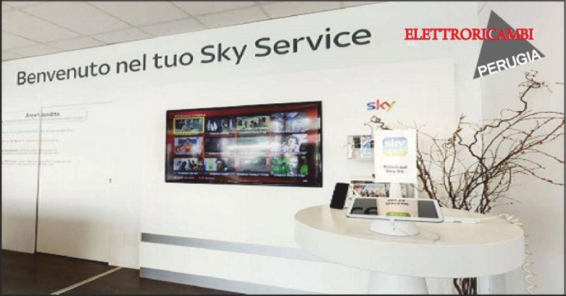 elettroricambi offerta sky service - occasione installazione antenne perugia