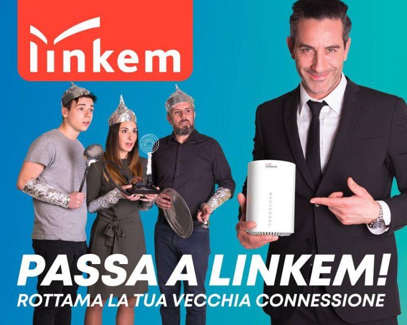 ELETTRORICAMBI offerta centro Linkem service corciano