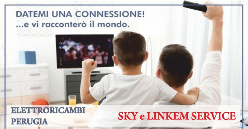 elettroricambi offerta centro sky  - occasione centro linkem perugia