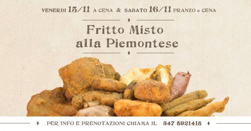ANTICA TRATTORIA LA STELLINA - offerta fritto misto alla piemontese degustazione bruzolo