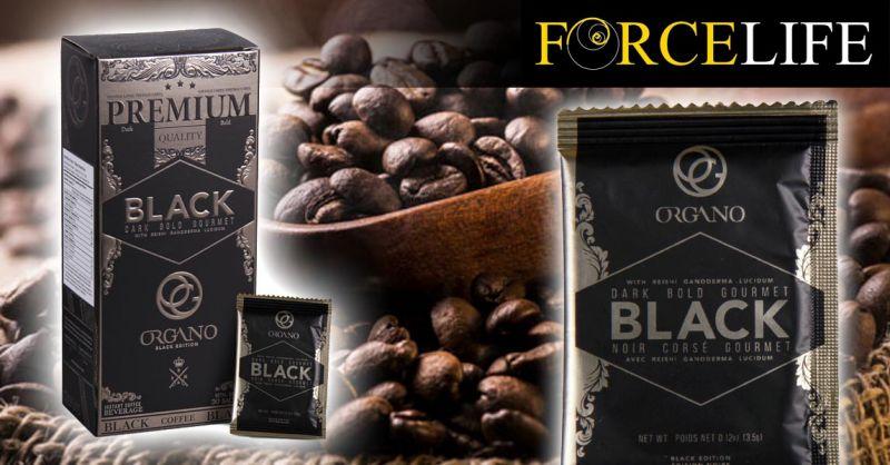 Offerta Vendita Gourmet Caffè Nero - Occasione Caffè nero con Ganoderma