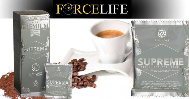 Offerta Vendita Cafè Supreme on linea - Occasione Caffè Biologico ganoderma ginseng maca