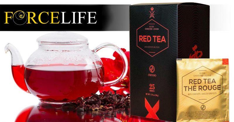 Offerta Vendita tè Rosso Biologico - Occasione The con Ganoderma bio