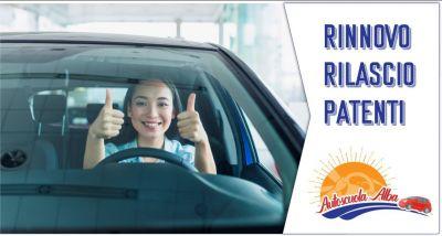 autoscuola alba offerta rilascio rinnovo patenti a b c d e cqc merci e persone