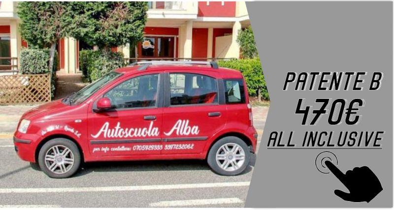 Autoscuola Alba - offerta corso patente B lezioni teoria e guida