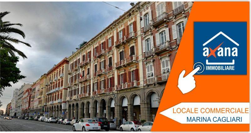 AXANA IMMOBILIARE - offerta vendita locale commerciale a reddito zona marina a Cagliari