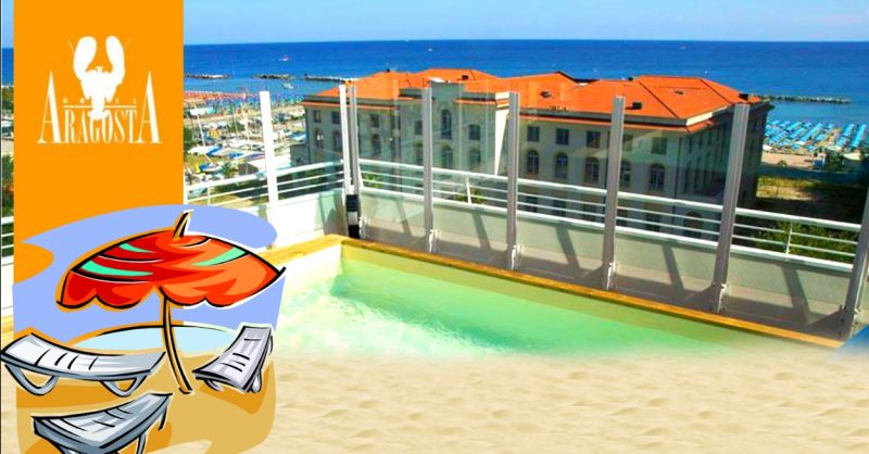 Offerta weekend in hotel con piscina a Rimini Cattolica