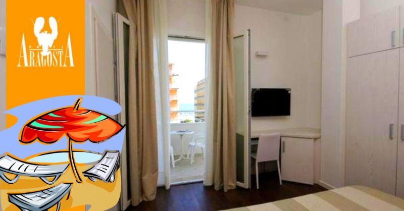 Offerta prenotazione hotel tre stelle con camera vista mare a Cattolica Rimini
