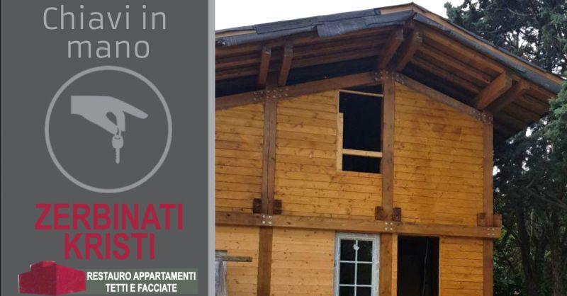 offerta costruzione case in legno Verona - occasione realizzazione muri in pietra Verona