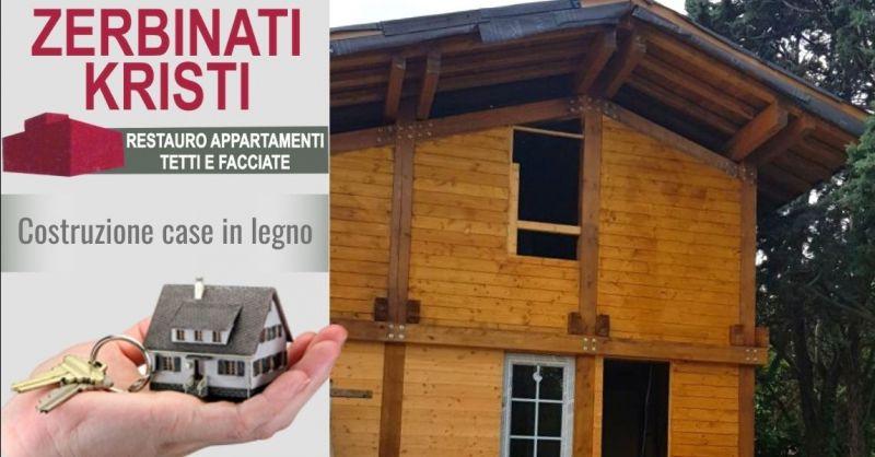 Occasione i migliori costruttori case in legno Verona e provincia - Offerta specialista costruzione muri in pietra