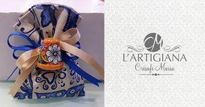 offerta bomboniere ceramica artigianali palermo occasione bomboniere a tema siciliano palermo