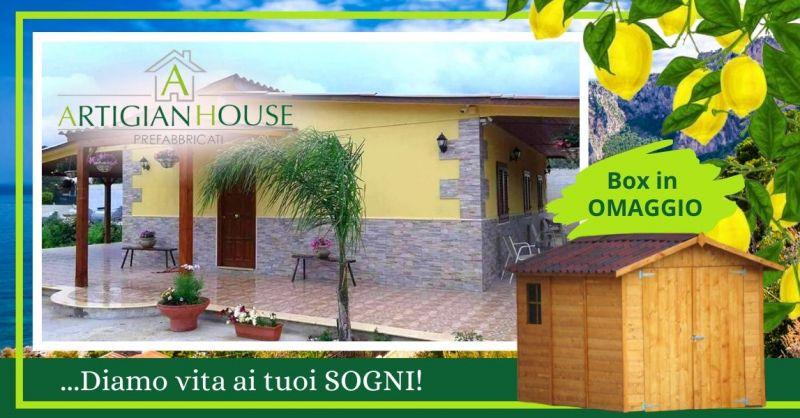 Offerta realizzazione case prefabbricate - Occasione costruzione ville case ecologiche Palermo
