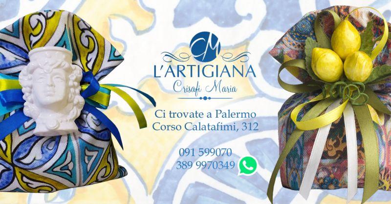Offerta Bomboniere Artigianali Siciliane Palermo - Occasione  Bomboniere Tema Siciliano Palermo