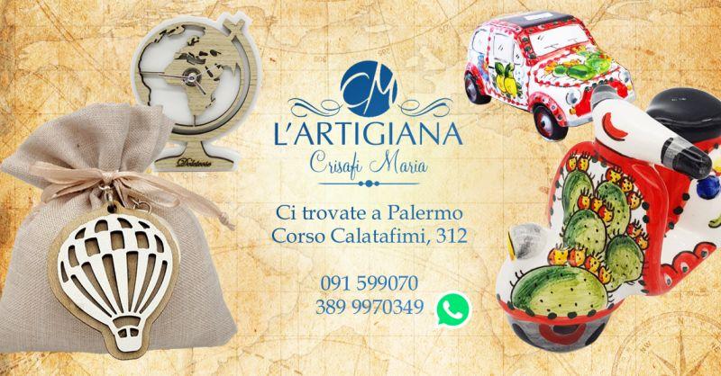 Offerta Bomboniere Tema Viaggio Palermo - Occasione Tema Nozze Viaggio Palermo
