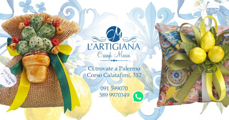 Offerta Saccoccini Portaconfetti Palermo - Occasione Saccoccini Artigianali Palermo