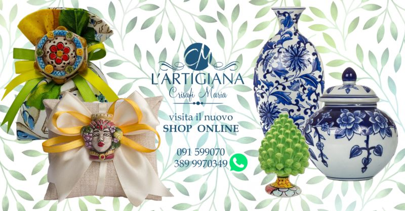 Offerta Bomboniere Siciliane Online - Occasione Negozio Online Bomboniere Siciliane