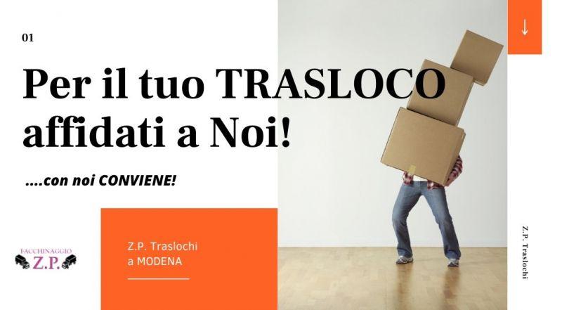 Occasione traslochi veloci e a basso prezzo a Modena - promozione servizi completi per traslochi a Bologna