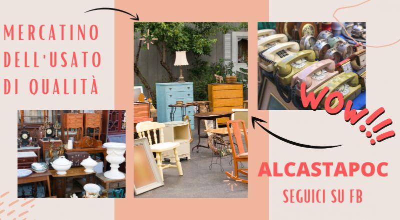Offerta vendita di oggetti usati di qualità a Modena – Occasione mercatino dell'usato vintage garantito a Modena