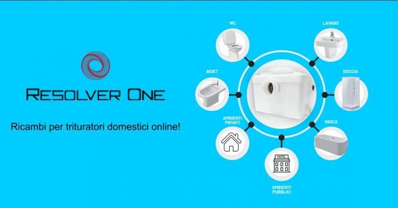 RESOLVER - offerta vendita ricambi trituratori online