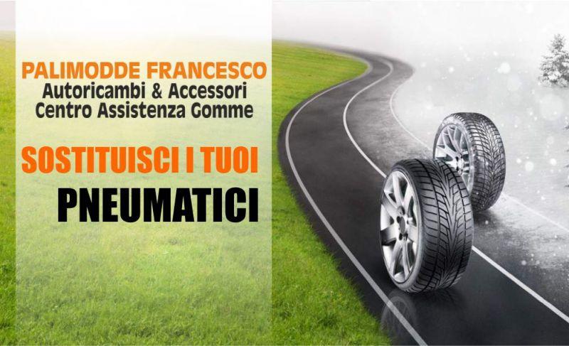 PALIMODDE FRANCESCO - offerta servizio sostituzione pneumatici estivi con quelli invernali