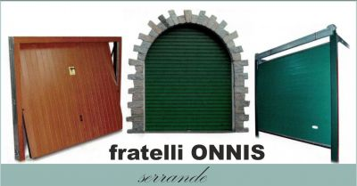 officina flli onnis offerta produzione manutenzione serrande porte basculanti porte sezionali