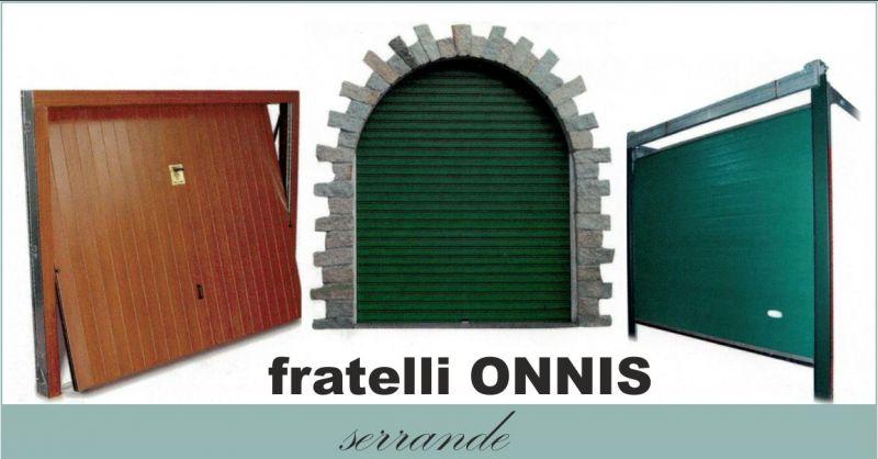 OFFICINA FLLI ONNIS - offerta produzione manutenzione serrande porte basculanti porte sezionali