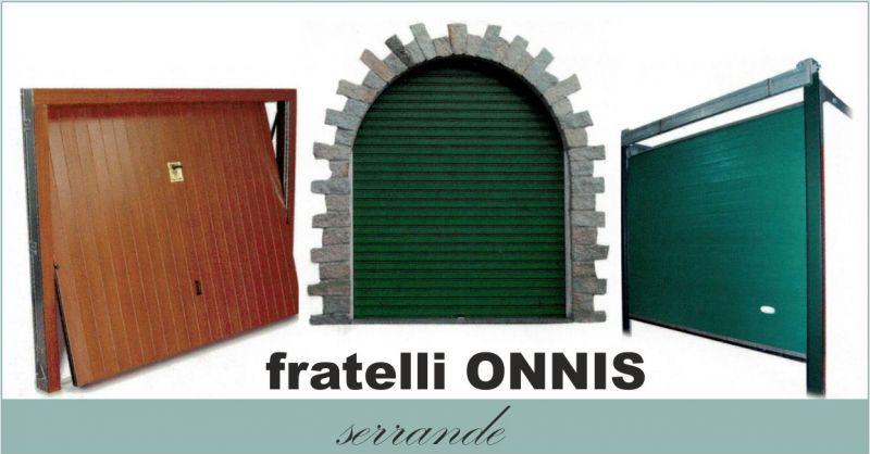OFFICINA F.LLI ONNIS - offerta produzione manutenzione serrande porte basculanti porte sezionali