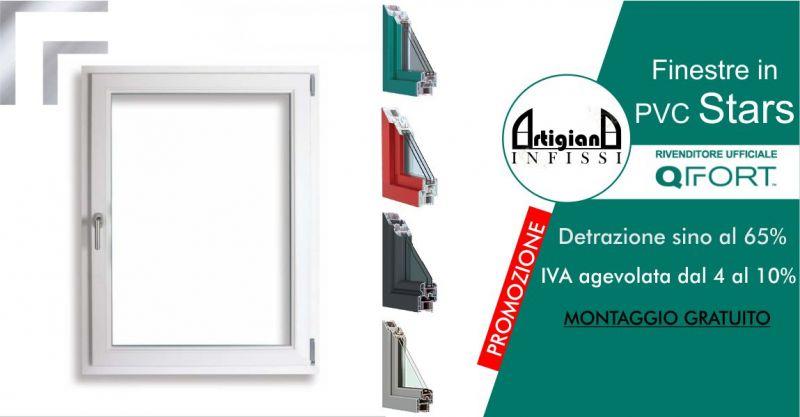 ARTIGIANA INFISSI - promozione finestre in PVC QFort gamma Stars Infissi resistenti