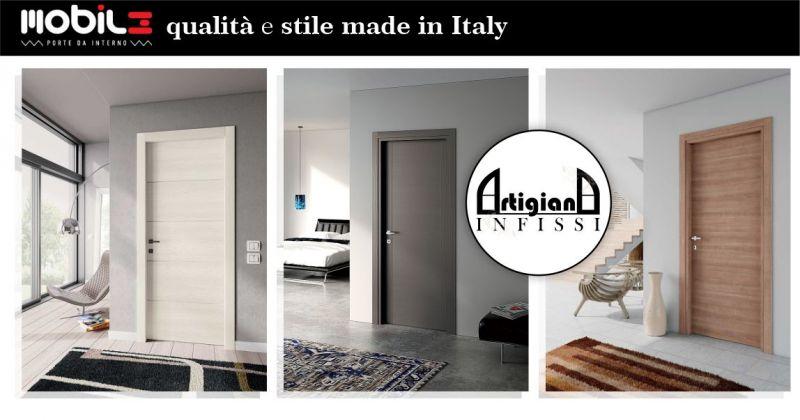 ARTIGIANA INFISSI - promozione porte interne Mobil3 Made in Italy