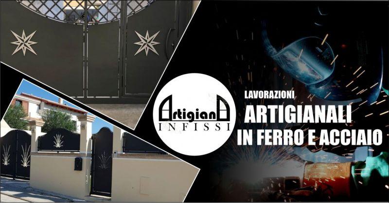 ARTIGIANA INFISSI - offerta lavorazioni artigianali in ferro e acciaio personalizzate