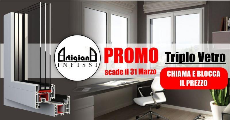 ARTIGIANA INFISSI - promozione vendita e installazione infissi triplo vetro