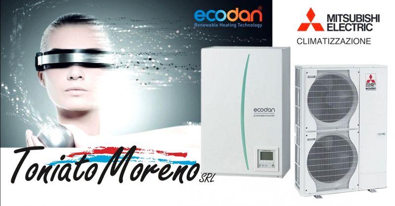 Promozione vendita pompe di calore Mitsubishi Electric Padova - offerta sistemi di riscaldamento