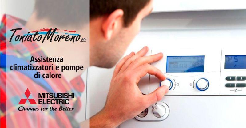 Promozione servizio assistenza climatizzatori e pompe di calore Mitsubishi Electric Padova
