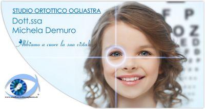 dott ssa michela demuro offerta esami ortottici determinazione patologie oculari bambini