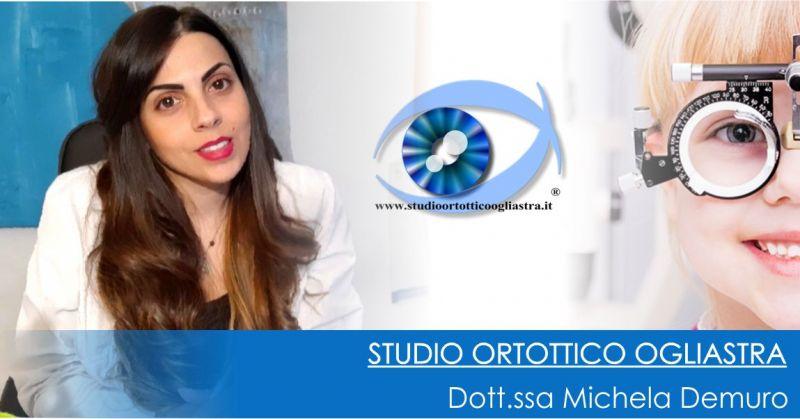Dott.ssa Michela Demuro - offerta esami ortottici per determinare patologie oculari  bambini