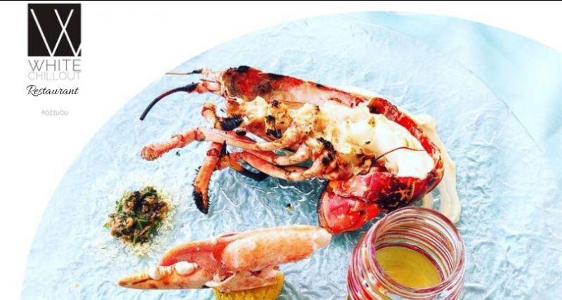 WHITE CILL OUT offerta ristorante sul mare - occasione menu di pesce fresco Pozzuoli