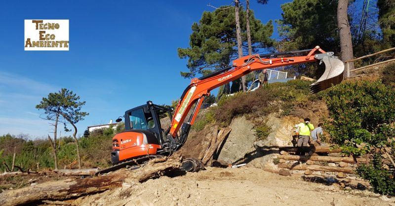 offerta lavori di edilizia ambientale e movimento terra - TECNOECOAMBIENTE