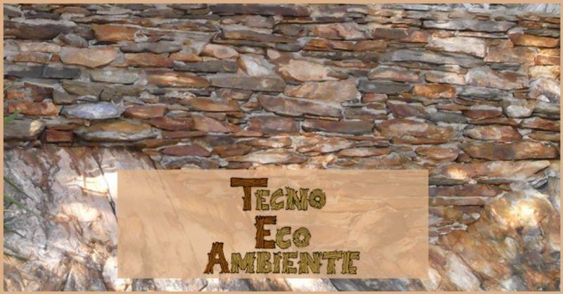 realizzazione muri di contenimento in pietra e cemento Versilia - Tecno Eco Ambiente