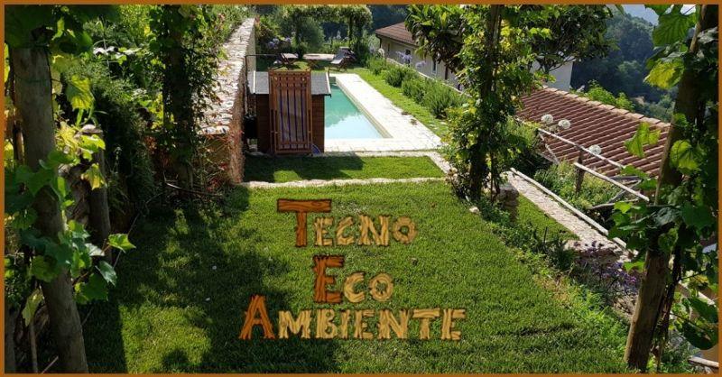 progettazione e manutenzione di giardini Versilia - realizzazione impianti di irrigazione