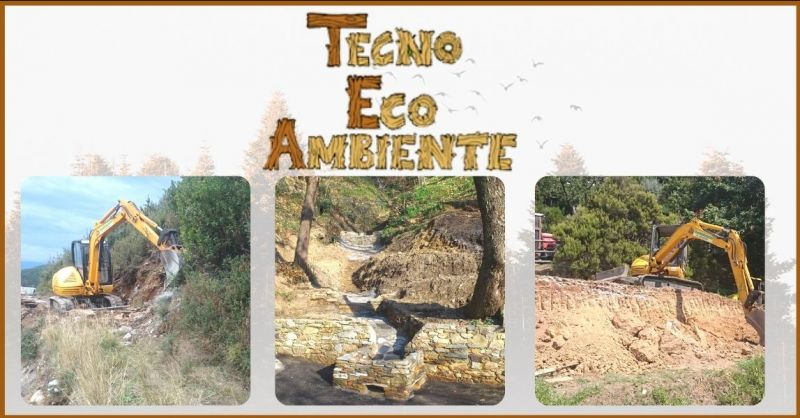 occasione realizzazione di opere di contenimento ecologiche ed ecosostenibili Lucca - TECNOECOAMBIENTE