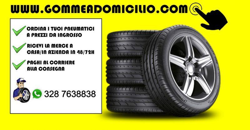Vendita Gomme auto online - offerta pneumatici prezzi ingrosso consegna a domicilio